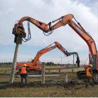 China jiangsu Construction machinery of pipe pile with customer requirement color on sale