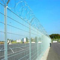Quality Military isolation fence with razor barbed wire for sale
