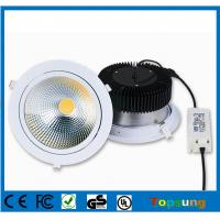China 100-277v square COB led downlight 50w high lumen led downlight with CE ROHS certificate on sale