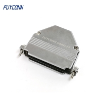 Buy cheap ISO9001 Metal Backshell Zinc D Sub Cover For 37P D Sub Connector from wholesalers
