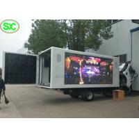 Quality IP65 Waterproof Mobile Truck LED Display 4mm with Phone Remote Control for sale