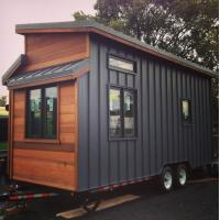 China Luxury Light Gauge Cider Box Prefabricated Tiny House With American Standard on sale