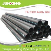 Quality 110-400mm HDPE pipe&fitting virgin PE100 superior material pipe hdpe for water supply for sale