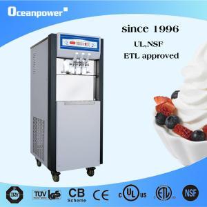 Quality ETL, NSF approved soft serve ice cream & frozen yogurt machine OP238EC for sale