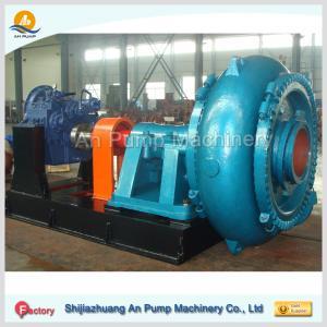 Quality hard metal 12/10 dredge gravel centrifugal slurry pump for sale
