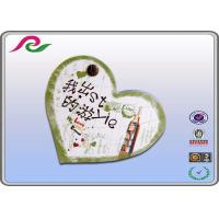 Quality recyclable writing paper heart Shaped Sticky Notes for student gift for sale