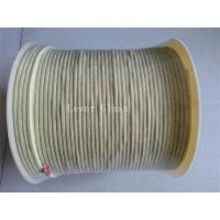 China 5.5 X5.5mm Kevlar Aramid Fiber Rope For Glass Tempering Furnace Rollers High Tensile Strength on sale