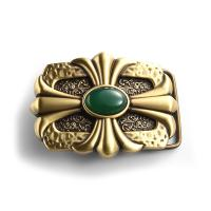 China High Grade Metallic Jade Belt Buckle / Bag Metal Buckle Logo Engraved on sale