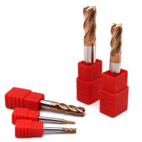 Buy cheap 2/4 Flute HRC50-55 Tungsten Carbide Steel End Mill Cutting Tools from wholesalers