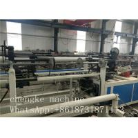 Quality PLC Control Fully Automatic single wire Chain Link Fence Machine fast and efficient for sale