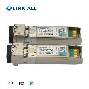 Quality CWDM Transceiver 10G SFP+ Transceiver With 1470nm~1610nm Wavelength 40km for sale