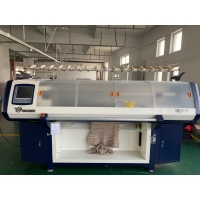 Quality Computerized Double System 56 Inch Blanket Knitting Machine for sale