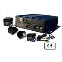 China Automobile360 degree Full View 4 Camera Car DVR 3G / GPS Monitoring System on sale