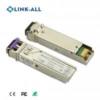 Quality DWDM 2.5G 80KM/ZR Optical Transceiver With LC Port DDM Function for sale