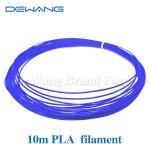 Blue Color 10m 1.75mm Blue PLA Filament for 3D printing pen