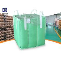 Buy Polypropylene FIBC Bulk Bags / Baffle Bag With Inner Bag Color Customized at wholesale prices