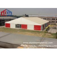 Buy cheap Aluminum Frame Outdoor Warehouse Tents , Warehouse Storage Tent With Roof Cover from wholesalers