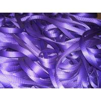 China Multi Colored 1T Polyester Webbing Roll , Polyester Sling Webbing TUV GS Certificate on sale