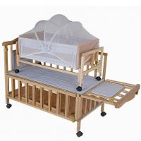 China Modern Newborn Baby Wooden Baby Cot Bedding Baby Sleeping Cot on sale