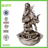 China Angel Resin Indoor Fountain Decoration on sale