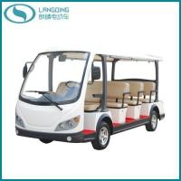 China CE Electric Tourist Coach Shuttle Bus Sightseeing Car Golf Car with Power-Assisted Steering(LQY113B) on sale