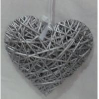 Quality whole sales willow /wicker heart, wicker craft for christmas decoration for sale