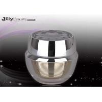 Quality Lining Stripes 61mm Empty Beauty Containers 30ml For Cream for sale