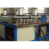 China Single Screw Extruder PC PP Plastic Hollow Sheet Extrusion Line , Hollow Board Making Machine on sale