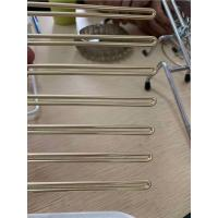 Buy cheap Imitating Gold Plating Stainless Steel Wire Forming For Custom Products Golden from wholesalers
