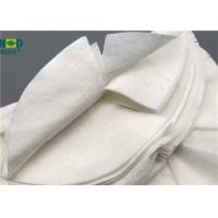 Quality Skin Care Nourishing Bamboo Fiber Fabric Non Woven Custom Size Tear Resistant for sale