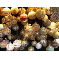 Quality Christmas Decoration Christmas Glass Ornament Skier Hanging Ornament for sale