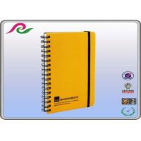Quality pp cover eco recycled Spiral Bound Notebooks with elastic band for sale