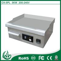 Quality Chuhe 5kw Induction electric griddle for sale