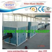 Quality Automatic HDPE Pipe Extrusion Machine , HDPE Pipe Plant PLC Control for sale