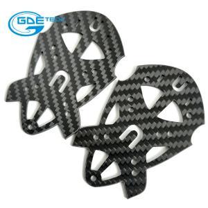 Quality cnc matte twill carbon fiber universal plate, carbon fiber cnc cutting parts customized made for sale