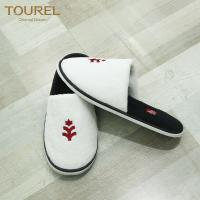 Quality personalized logo disposable hotel slipper for men and women for sale