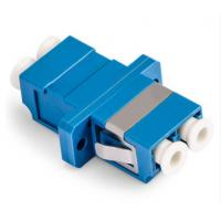 Quality LC Duplex Fiber Optic Adapter Single Mode Small Size Large Capacity For CATV for sale