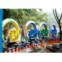 Quality Multi Color UFO Cycle Monorail Ride , Track Car Model Roller Coaster Attractions for sale