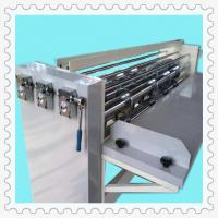 Quality top speed semi-automatic carton packaging slitting creasing machine for sale