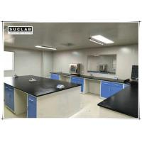 Quality 13mm Worktops Science Laboratory Furniture Workbench Chemical Resistant for sale