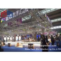 Quality 12m Span Aluminum MaterialSliver Color Stage Ladder Truss For Outdoor Events for sale