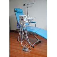 Quality Luxury Type Folding Dental Chair Unit With Rechargeable Led Light for sale