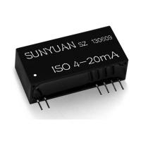 Quality Sunyuan 4-20mA to 4-20mA Current Loop Powered Signal Isolator Module IC ISO 4-20mA for sale