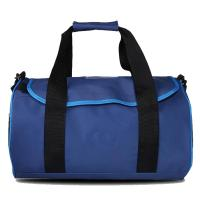 Quality Blue Color Unique 600D Polyester Large Travel Luggage Bags Quickly Delivery Time for sale