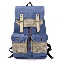 Quality Small Moq Canvas Sling Leisure Travel Bags Korean Style Backpack 50L Capacity for sale
