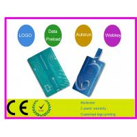 Quality Retractable credit card usb flash drive AT-045C for sale