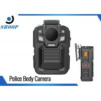 Quality Remote Control Wearable Body Cameras WIFI GPS Optional Light Weight for sale