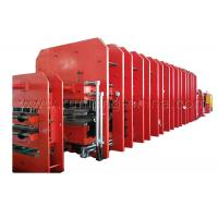Buy Steel Cord Rubber Conveyor Belt Vulcanizing Press Making Machine Production Line at wholesale prices