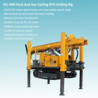 Quality Crawler Mounted Mechanical Top Head And hydraulic Feeding DTH Drilling Rig for sale