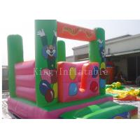 Buy cheap Customized Festival Amusement Commercial Bounce Houses For Kits from wholesalers